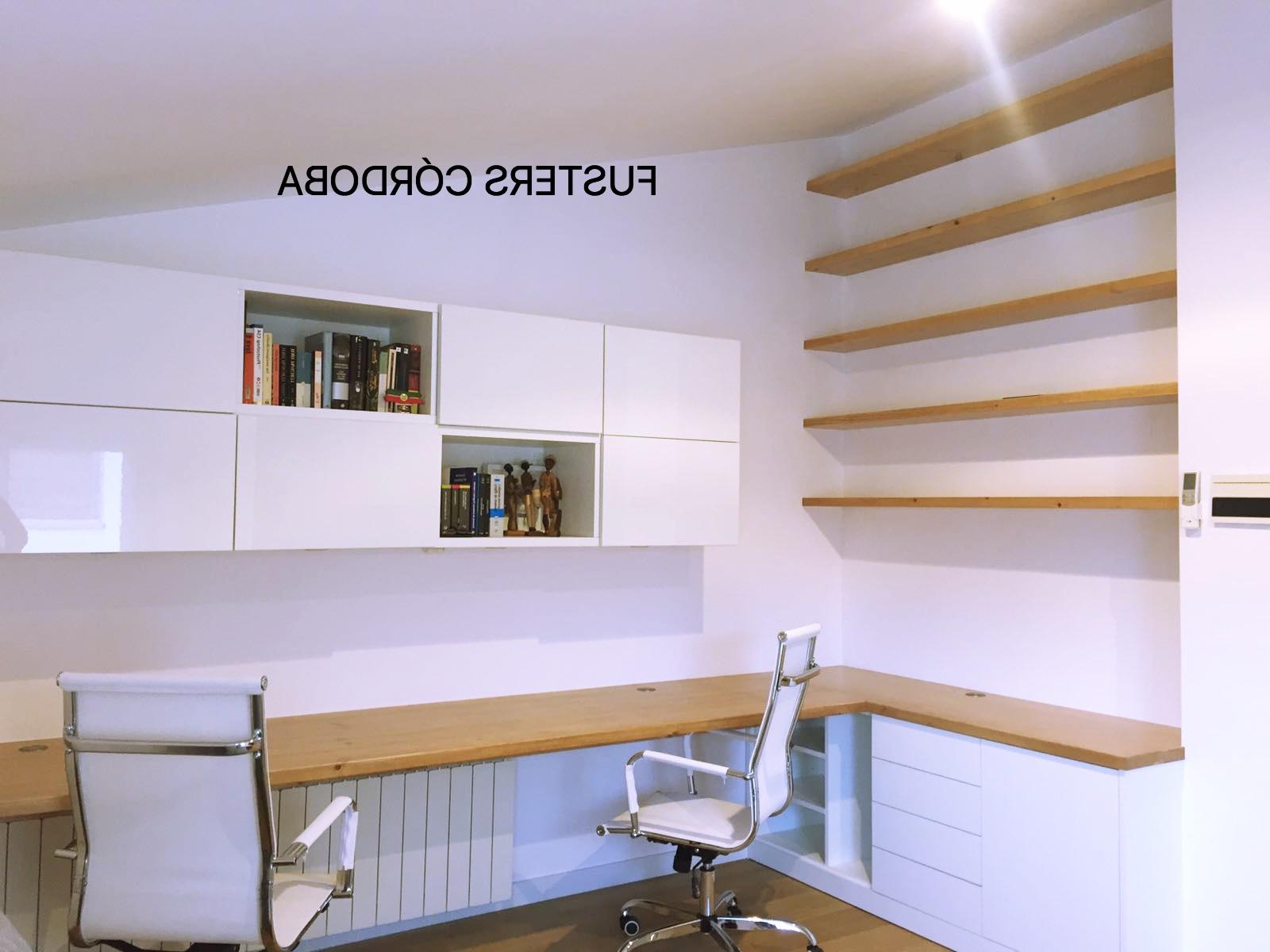 Escritorio A Medida O2d5 Escritorio Archivos Carpinteria De Madera En Barcelona