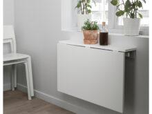 Escritorio Abatible Etdg norberg Mesa Abatible De Pared Blanco 74 X 60 Cm Ikea