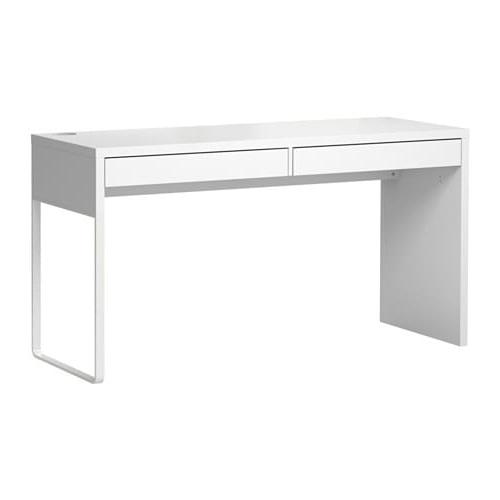 Escritorio Blanco Q5df Micke Escritorio Blanco 142 X 50 Cm Ikea