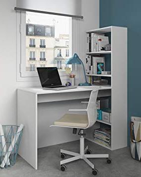 Escritorio Con Estanteria 0gdr Mesa De ordenador Pc O Escritorio Con Estanteria Reversible En