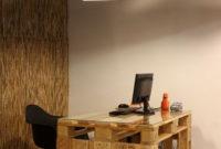 Escritorio Con Palets Gdd0 Muebles De Oficina Hechos De Palets De Madera