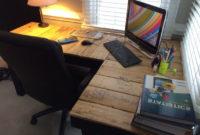 Escritorio Con Palets O2d5 5 Escritorios De Palets originales Y Prà Cticos I Love Palets