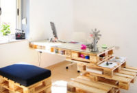 Escritorio Con Palets Zwd9 Muebles De Oficina Hechos Con Palets De Madera Decoracià N