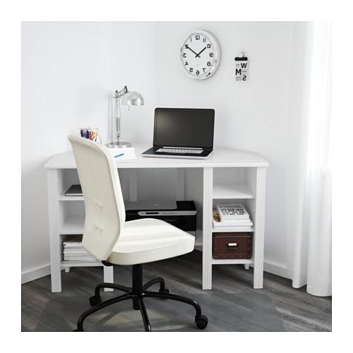 Escritorio De Esquina Q5df Brusali Escritorio De Esquina Blanco 120 X 73 Cm Ikea