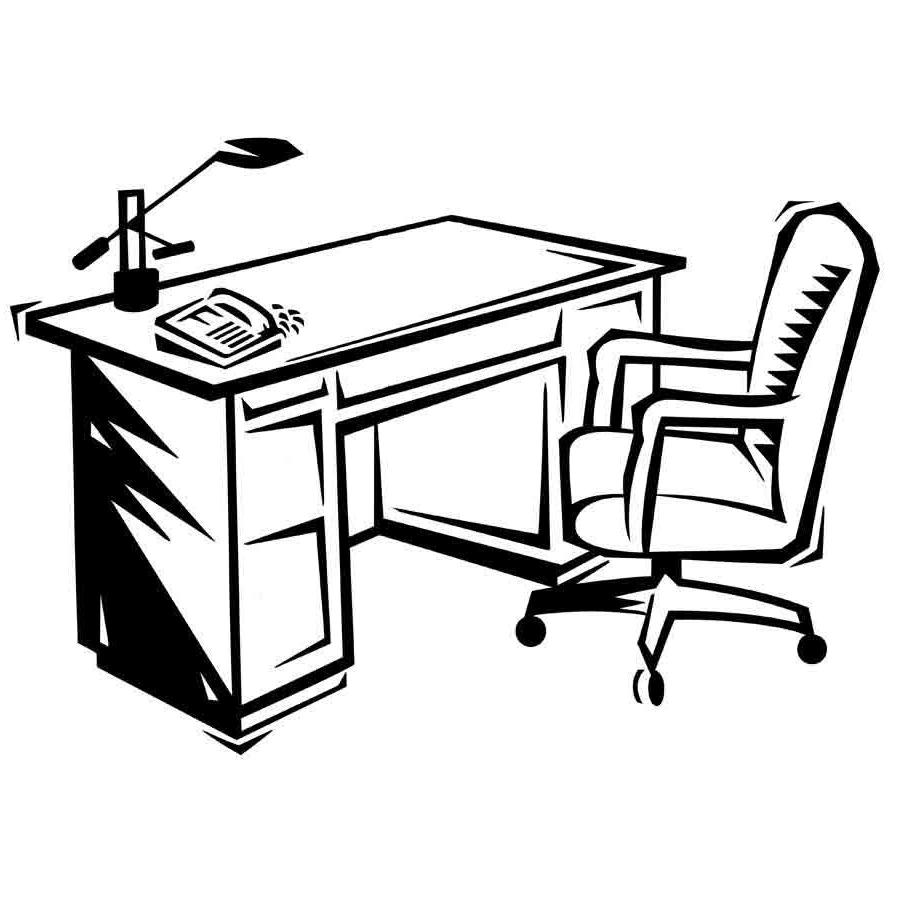 Escritorio Dibujo Budm Dibujo Para Imprimir Y Colorear De Un Escritorio