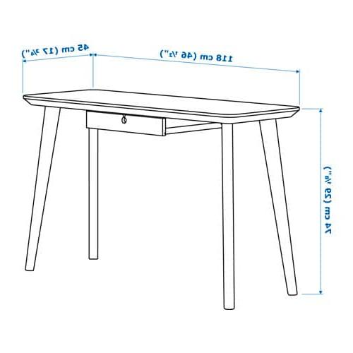 Escritorio Dibujo Nkde Lisabo Escritorio Chapa Fresno 118 X 45 Cm Ikea