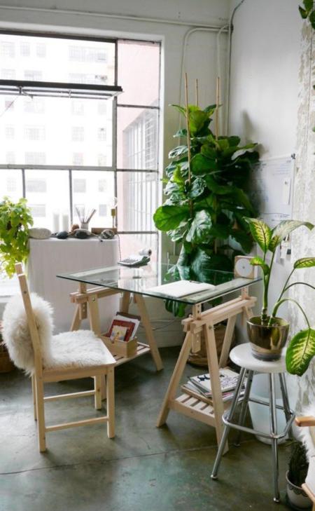 Escritorio En El Salon 87dx 21 formas De Integrar Una Zona De Trabajo En La Estancia De La Casa
