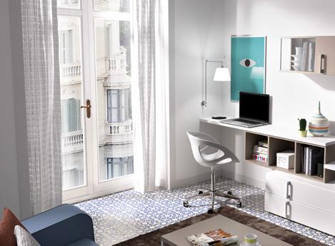 Escritorio En El Salon H9d9 Muebles Con Escritorio Un Salà N Con Zona De Trabajo