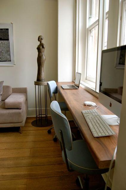 Escritorio En El Salon Y7du 21 formas De Integrar Una Zona De Trabajo En La Estancia De La Casa