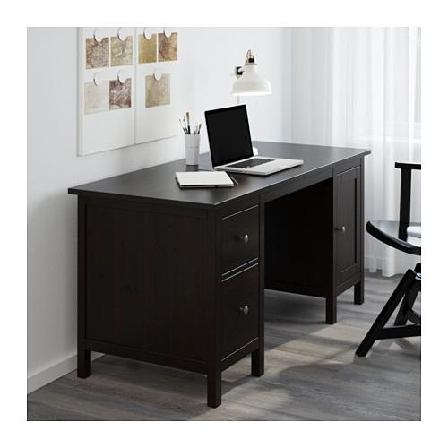 Escritorio Hemnes H9d9 Escritorio Hemnes Ikea Cafe Negro Con Cabinetes 13 499 00 En