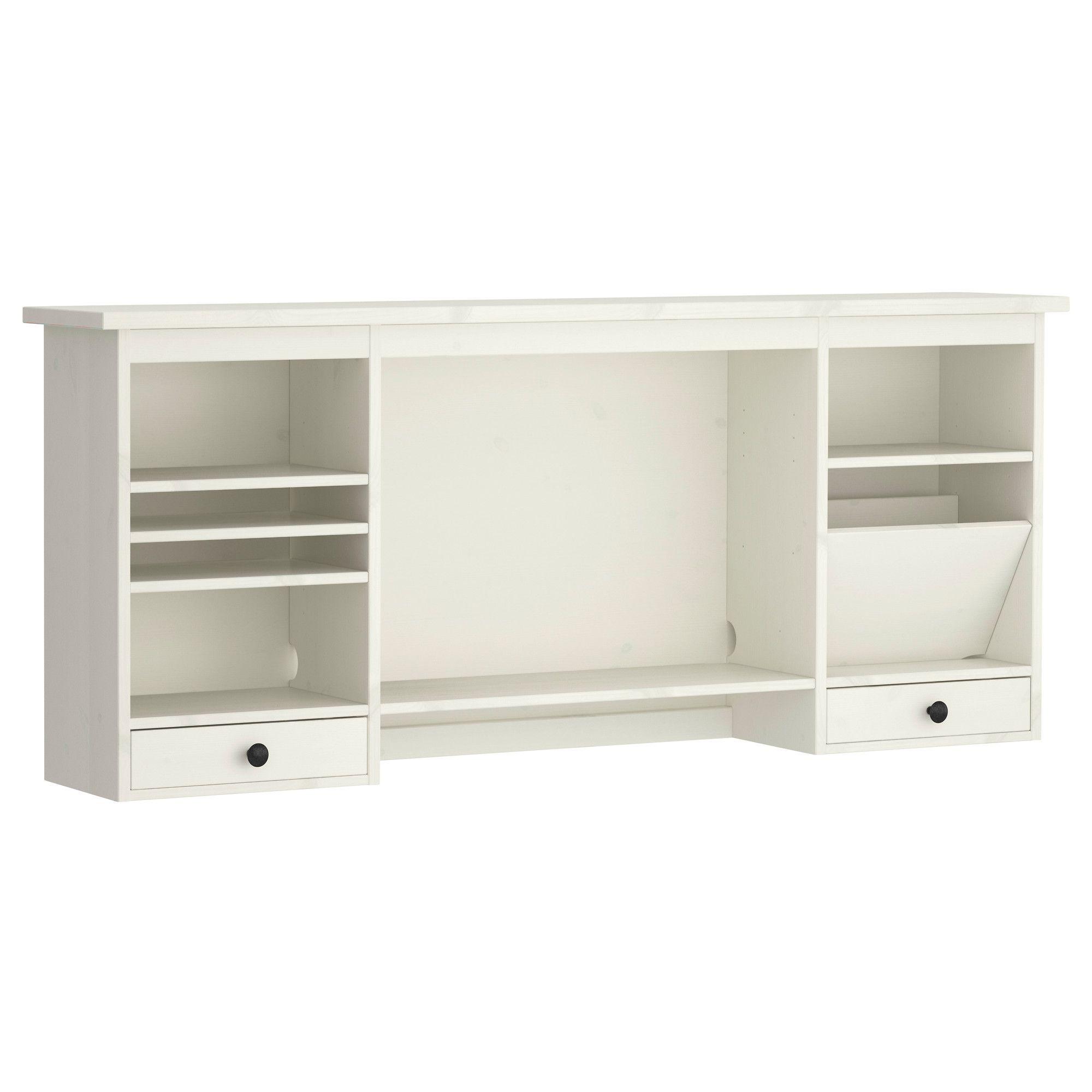 Escritorio Hemnes Irdz Hemnes Add On Unit for Desk White Stain Emma Escritorio Ikea