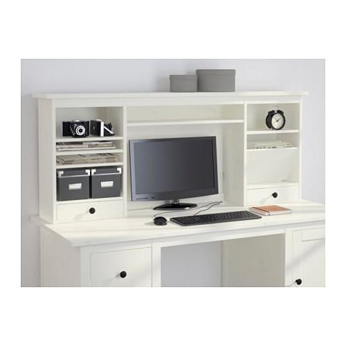 Escritorio Hemnes Mndw Hemnes MÃ Dulo Adicional Escritorio Tinte Blanco 152 X 63 Cm Ikea