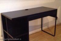 Escritorio Ikea Micke 8ydm Ikea Micke Desk with Integrated Storage Youtube