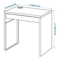 Escritorio Ikea Micke Q5df Micke Escritorio Blanco 73 X 50 Cm In 2018 Study Table Pinterest
