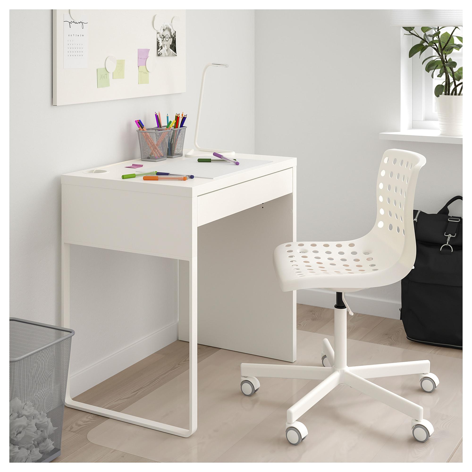 Escritorio Ikea Micke S5d8 Micke Escritorio Blanco 73 X 50 Cm Ikea