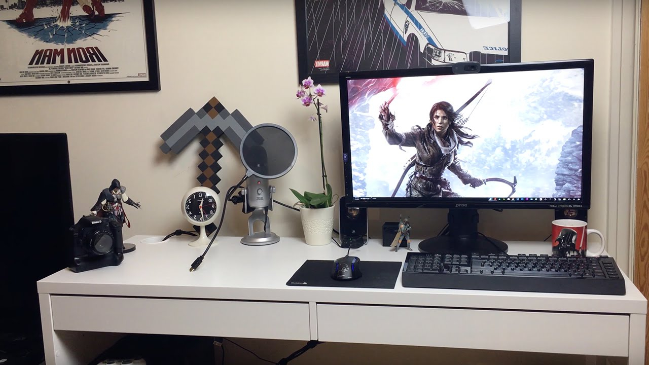 Escritorio Ikea Micke T8dj Ikea Micke Desk Review White Overview and Opinions Pc Gaming Set Up