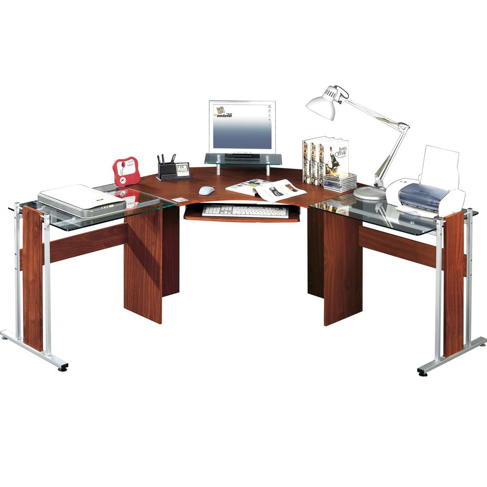 Escritorio L S5d8 Escritorio En L Skyline Cerezo Officemax