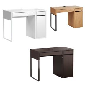 Escritorio Micke 0gdr New Micke Desk White Black Brown Oak Effect 105 X 50 Cm Brand Ikea