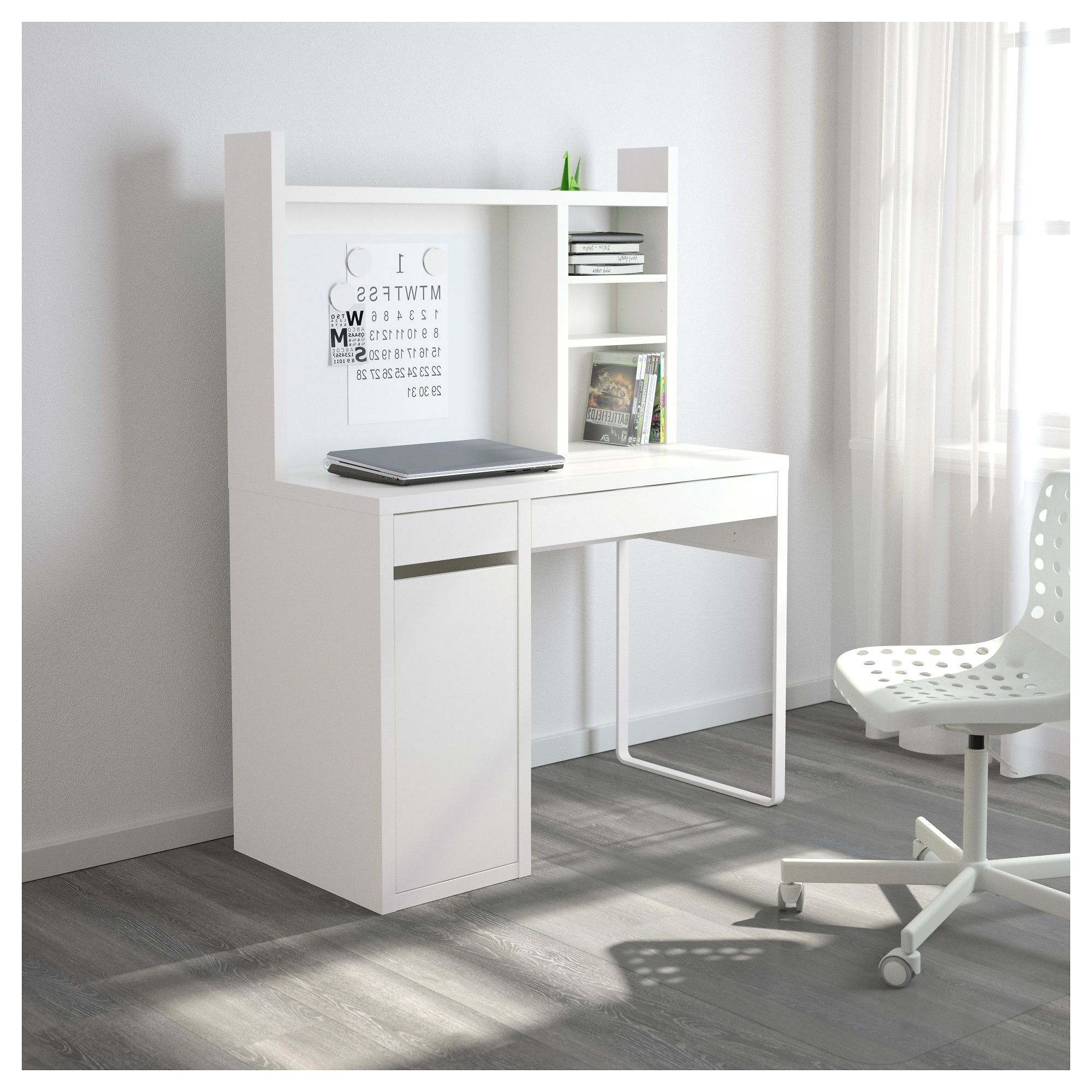 Escritorio Micke Ikea Nkde Micke Work Station White In 2018 Pinterest