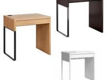 Escritorio Micke Ikea T8dj Micke Desk Black Brown Oak Effect White 73x50 Cm Ikea New