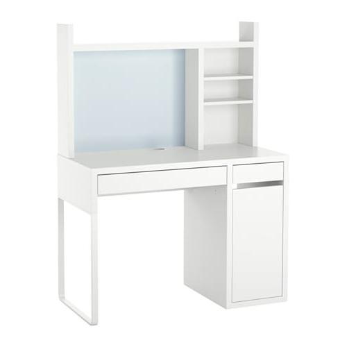 Escritorio Micke Mndw Micke Centro De Trabajo Blanco 105 X 50 Cm Ikea