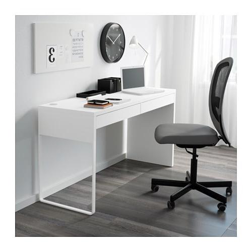 Escritorio Micke Thdr Micke Escritorio Blanco 142 X 50 Cm Ikea