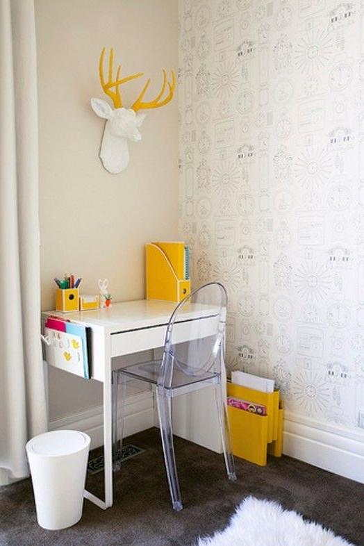 Escritorio Micke X8d1 Escritorios Infantiles Con La Mesa Micke De Ikea Decopeques