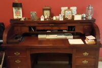 Escritorio Secreter Budm Antiguedad Mueble De Madera Caoba Secreter Escritorio Bs 998 645