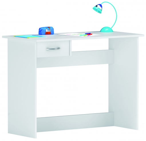 Escritorios Juveniles Carrefour Tqd3 Escritorio Mesa De Estudio Juvenil 100 Cm Blanco Para ordenador Habitacià N Infantil