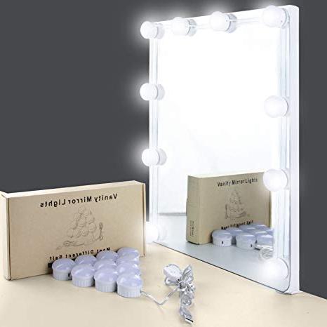 Espejo tocador Tldn Espejo tocador Con Luz Unifun 7000k Espejo De Maquillaje Con Luz 10
