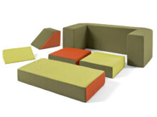 Espuma Para sofas H9d9 Modular sofa for Children Puzzle Safari Minimoi Minimoi