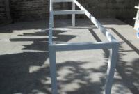 Estructura Mesa Ipdd Estructura De Hierro Cuadrado Para Mesa Sin Tapa