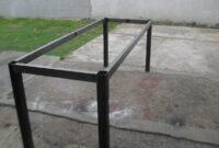 Estructura Mesa Mndw Mesa De Estructura De Hierro Cuadrado P Edor Quincho Etc