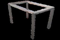 Estructura Mesa X8d1 Bastidor Para Mesa En Acero Inoxidable Aceros Rago
