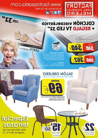 Factory Del Mueble 4pde Ofertas Factory Del Mueble Melero Abril 2015 by Factory Sarria issuu