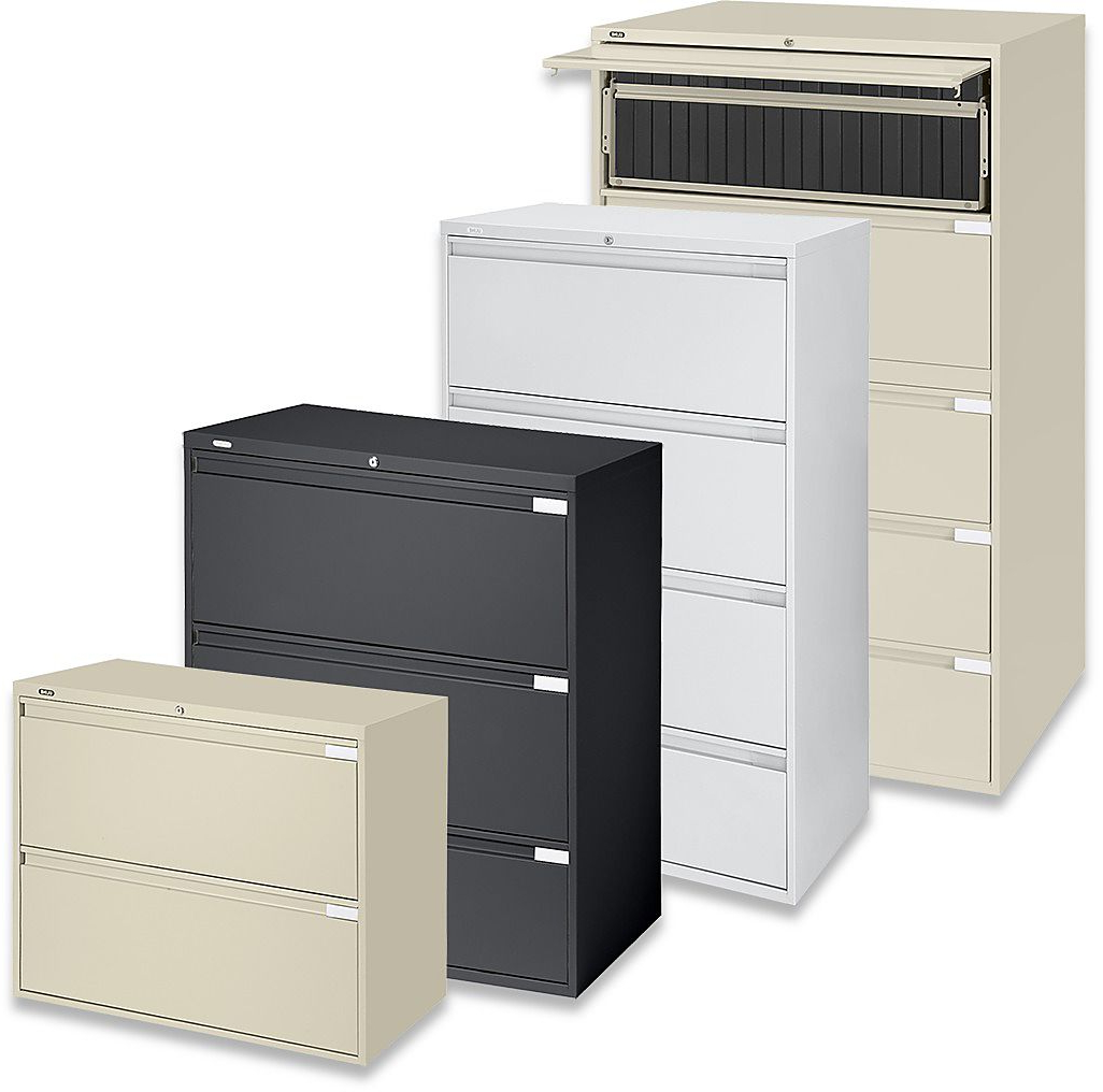 Filing Cabinets 87dx Lateral File Cabinets 3 Drawer Filing Cabinets In Stock Uline