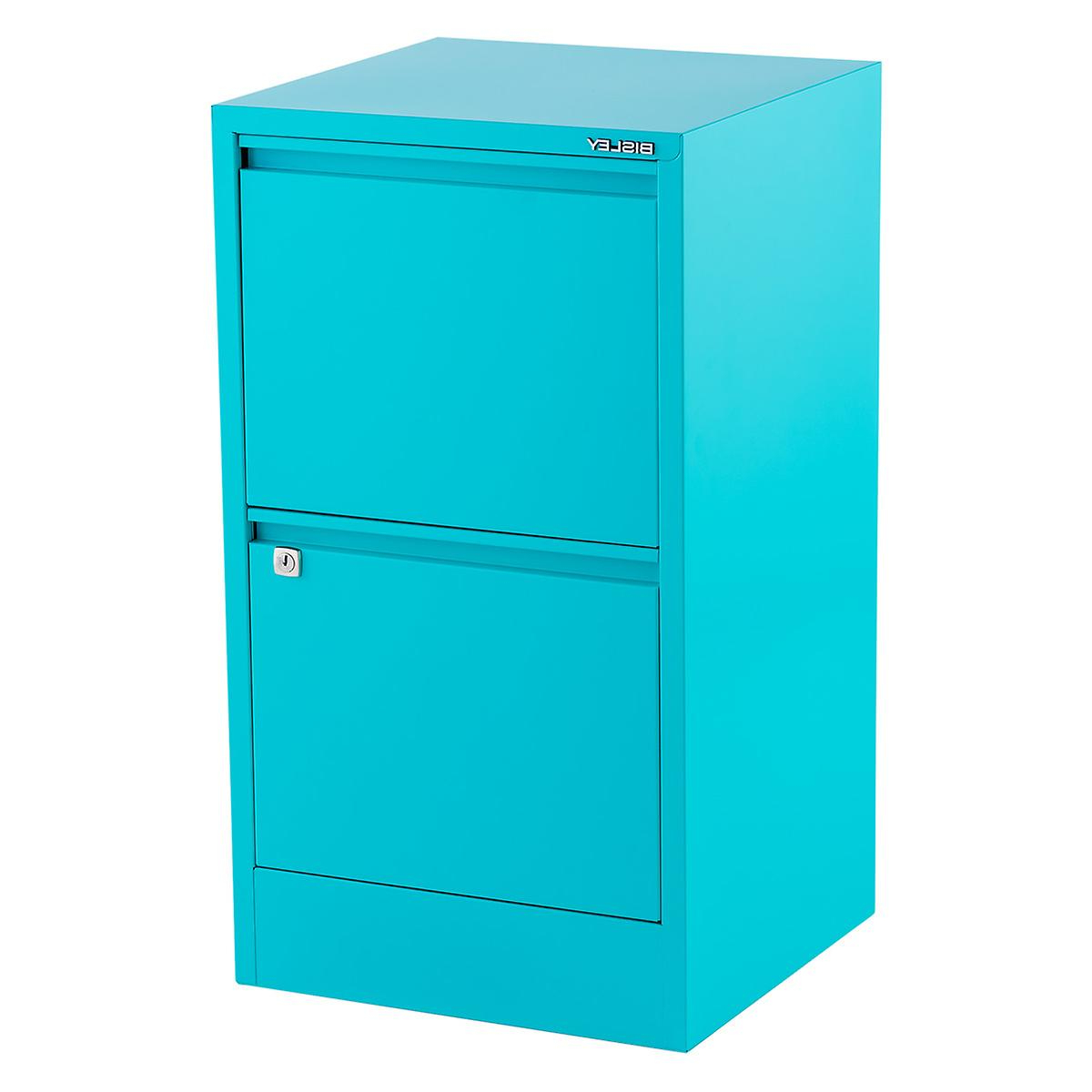 Filing Cabinets E6d5 Bisley Aqua 2 3 Drawer Locking Filing Cabinets the Container Store