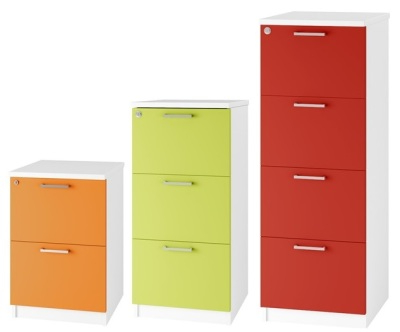 Filing Cabinets S1du Coloured Wooden Filing Cabinets Spectrum Two Drawer Online Reality