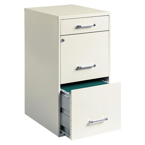 Filing Cabinets S1du Hirsh 3 Drawer File Cabinet Steel Tar