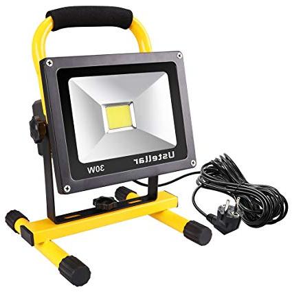 Foco Led Portatil Tldn Ustellar Foco Led Portà Til 30w 2400lm Proyector Led Reflector De