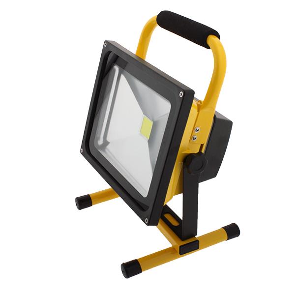 Foco Portatil Y7du Foco Proyector Led Portà Til Con Baterà A 20w Iluminashop