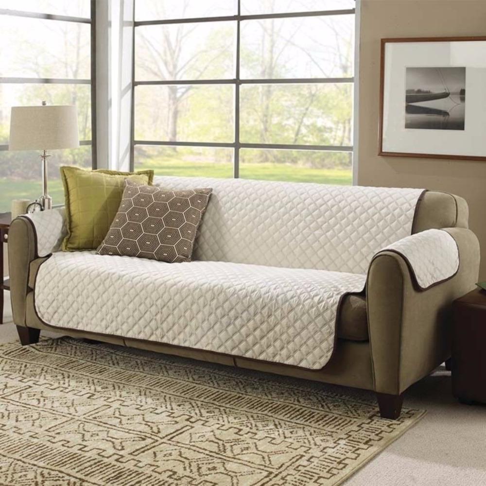 Forros Para sofas Etdg Funda forro Protector Para sofa Doble Faz Cobertor Para sofa