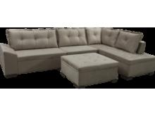 Fotos De sofa T8dj sofà De Canto 2 E 3 Lugares Puff Tecido Veludo Rústico