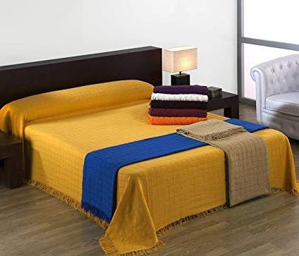 Foulard Cubre sofa Dddy Regalitostv 230 Gris Alfarnate Colcha Tejida Con Flecos Multiusos