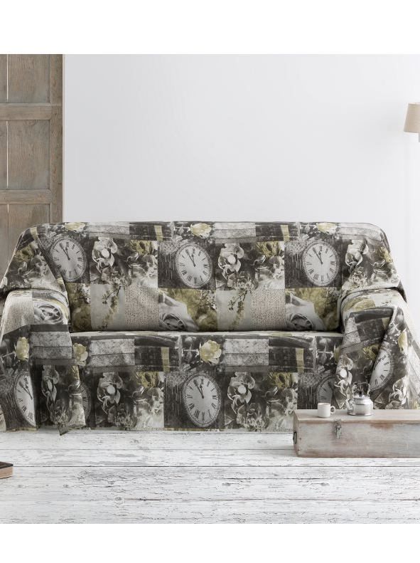 Foulard Cubre sofa Mndw Fular Cubre sofà Estampado Con Diseà O Patchwork Venca