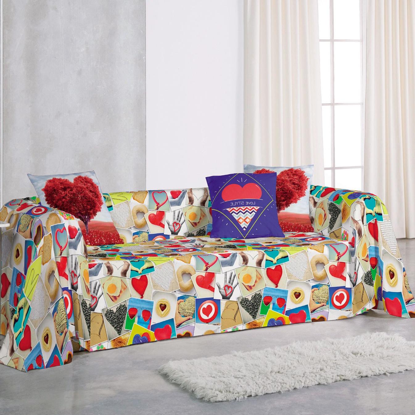 Foulard Cubre sofa Tldn Foulard Love