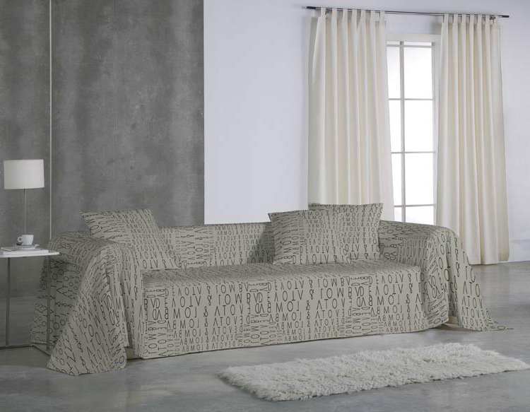 Foulard Cubre sofa Txdf Funda sofà Divine De Devota Y Lomba Euromoda Casaytextil