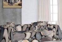Foulard Para sofas 3ldq Prar Hogar Textil Urban Home Foulard Para sofà O Cama Piedras