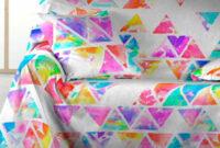 Foulard Para sofas Zwd9 Foulard sofà Piramide Purpura Home
