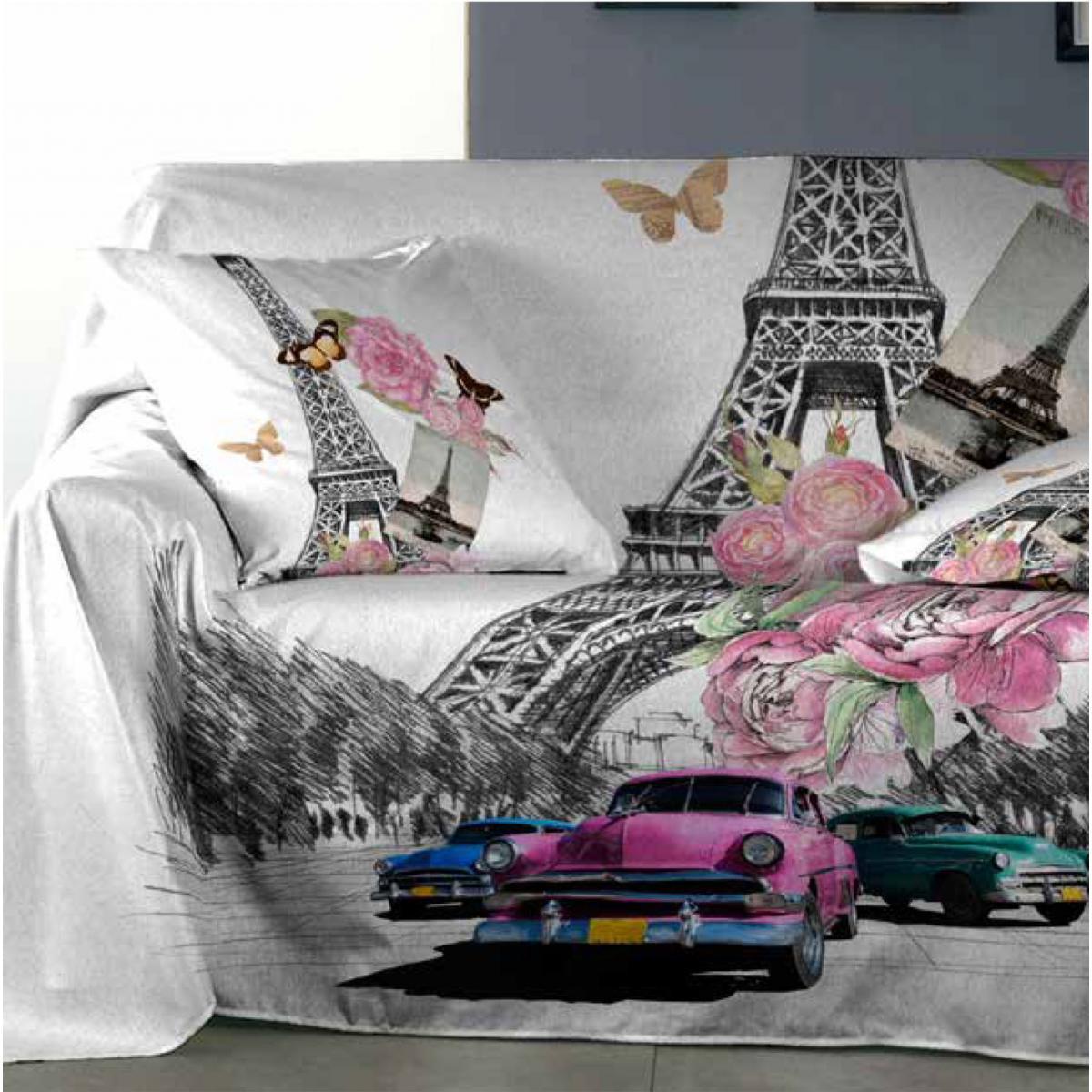 Foulard sofa Budm Foulard sofà Glamour Purpura Home